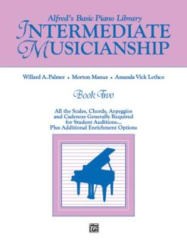 Musicianship Book: Intermediate Musicianship (AL-00-3078)
