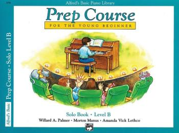 Alfred's Basic Piano Prep Course: Solo Book B (For the Young Beginner) (AL-00-3096)