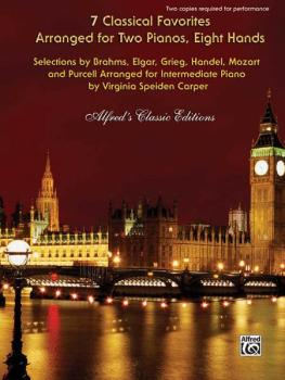 7 Classical Favorites Arranged for Two Pianos, Eight Hands: Selections (AL-00-32433)