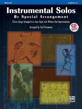 Instrumental Solos by Special Arrangement: 11 Songs Arranged in Jazz S (AL-00-32854)