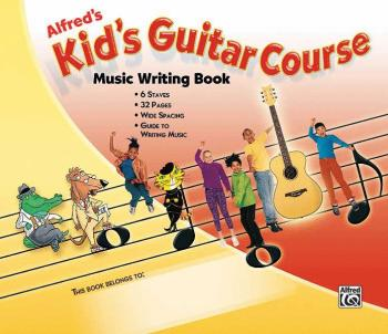 Alfred's Kid's Guitar Course Music Writing Book (AL-00-33226)
