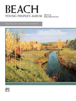 Beach: Young People's Album, Opus 36 (AL-00-3573)