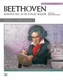 "Beethoven: Sonata No. 26 in E-flat Major, Opus 81a (""Das Lebewohl"") (AL-00-36282)"