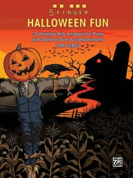 5 Finger Halloween Fun: 13 Haunting Hits Arranged for Piano with Optio (AL-00-36283)