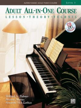 Alfred's Basic Adult All-in-One Course, Book 3 (Lesson * Theory * Solo (AL-00-36617)