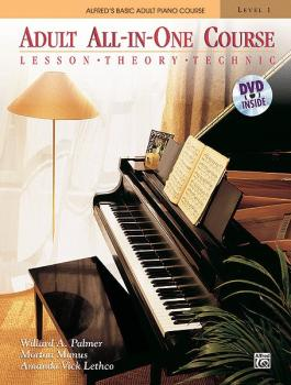 Alfred's Basic Adult All-in-One Course, Book 1: Lesson * Theory * Tech (AL-00-37748)
