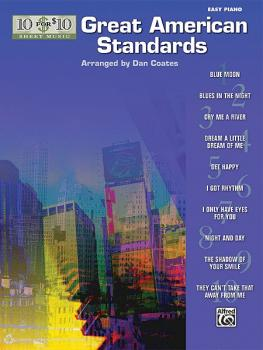 10 for 10 Sheet Music: Great American Standards (AL-00-38585)