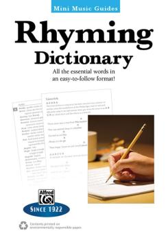 Mini Music Guides: Rhyming Dictionary: All the Essential Words in an E (AL-00-40965)