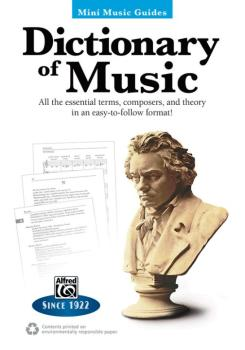 Mini Music Guides: Dictionary of Music: All the Essential Terms, Compo (AL-00-41043)