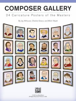 Composer Gallery: 24 Caricature Posters of the Masters (AL-00-42973)