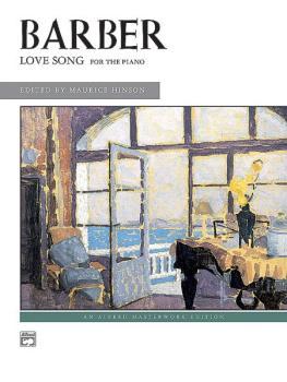 Barber: Love Song (AL-00-4628)