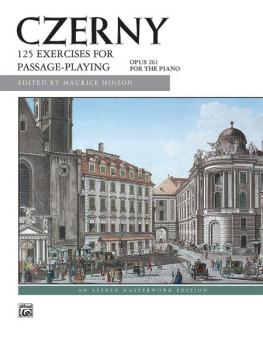 125 Exercises for Passage Playing, Op. 261 (AL-00-4838)