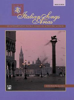 26 Italian Songs and Arias (AL-00-4861)