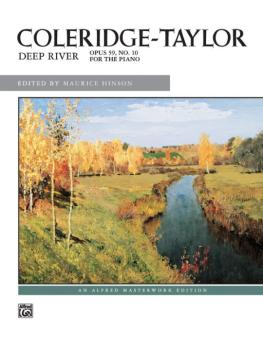 Coleridge-Taylor: Deep River (AL-00-4891)