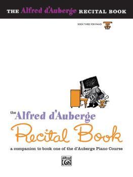 Alfred d'Auberge Piano Course: Recital Book 3 (AL-00-512)