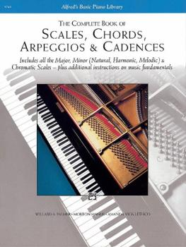 Scales, Chords, Arpeggios & Cadences - Complete Book (AL-00-5743)