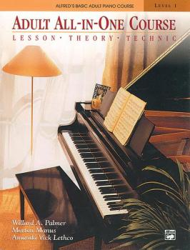 Alfred's Basic Adult All-in-One Course, Book 1: Lesson * Theory * Tech (AL-00-5753)