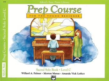 Alfred's Basic Piano Prep Course: Sacred Solo Book C (For the Young Be (AL-00-6196)