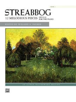 12 Melodious Pieces, Book 1, Op. 63 (AL-00-621)