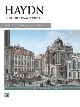 12 Short Piano Pieces (AL-00-627)