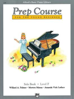 Alfred's Basic Piano Prep Course: Solo Book F (For the Young Beginner) (AL-00-6296)