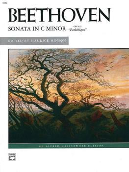 """Beethoven: Sonata in C Minor, Opus 13 (""""Pathétique"""") (AL-00-6352)"""
