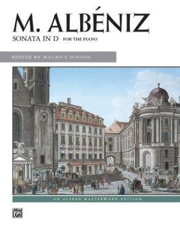 Albéniz: Sonata in D (AL-00-6368)