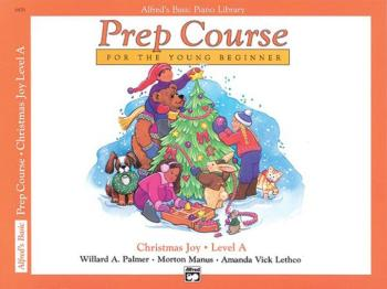 Alfred's Basic Piano Prep Course: Christmas Joy! Book A (For the Young (AL-00-6476)
