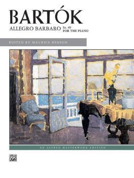 Bartók: Allegro Barbaro, Sz. 49 (AL-00-8085)