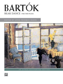 Bartók: Bear Dance (AL-00-881)