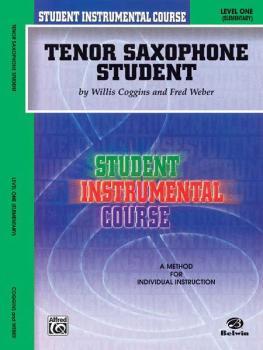 Student Instrumental Course: Tenor Saxophone Student, Level I (AL-00-BIC00136A)