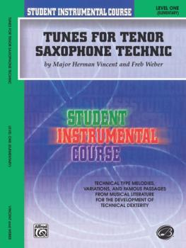 Student Instrumental Course: Tunes for Tenor Saxophone Technic, Level  (AL-00-BIC00138A)