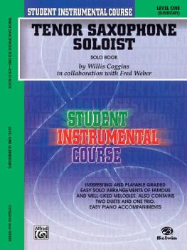 Student Instrumental Course: Tenor Saxophone Soloist, Level I (AL-00-BIC00139SA)