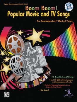 Boom Boom! Popular Movie and TV Songs (For Boomwhackers® Musical Tubes (AL-00-BMR07016CD)