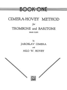 Cimera - Hovey Method for Trombone and Baritone (AL-00-EL00078)