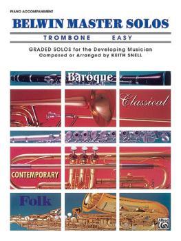 Belwin Master Solos, Volume 1 (Trombone) (AL-00-EL03539)