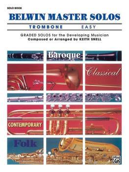 Belwin Master Solos, Volume 1 (Trombone) (AL-00-EL03542)