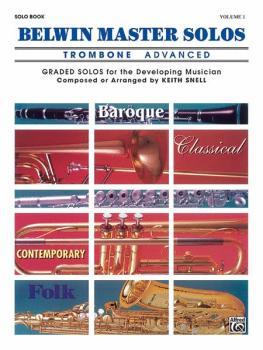 Belwin Master Solos, Volume 1 (Trombone) (AL-00-EL03544)