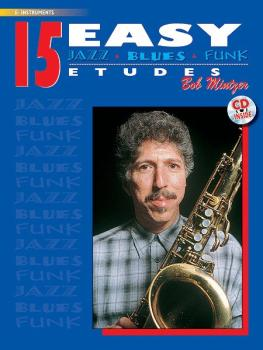 15 Easy Jazz, Blues & Funk Etudes (AL-00-ELM00031CD)