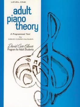 Adult Piano Theory, Level 1 (A Programmed Text) (AL-00-FDL00737)
