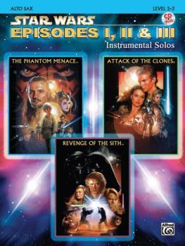<I>Star Wars</I>®: Episodes I, II & III Instrumental Solos (AL-00-IFM0521CD)
