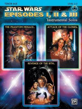 <I>Star Wars</I>®: Episodes I, II & III Instrumental Solos (AL-00-IFM0522CD)