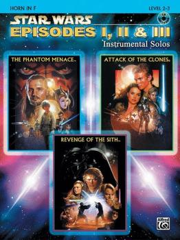 Star Wars®: Episodes I, II & III Instrumental Solos (AL-00-IFM0524CD)