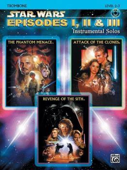 <I>Star Wars</I>®: Episodes I, II & III Instrumental Solos (AL-00-IFM0525CD)