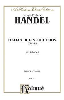 Italian Duets and Trios (AL-00-K01351)