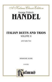 Italian Duets and Trios, Volume II (AL-00-K01352)