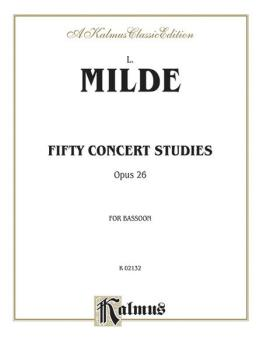 Fifty Concert Studies, Op. 26 (AL-00-K02132)