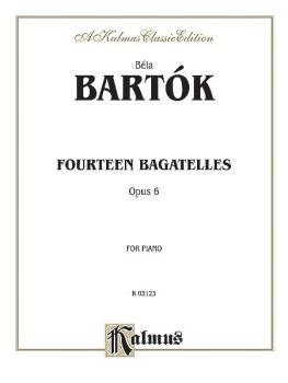 14 Bagatelles, Op. 6 (AL-00-K03123)