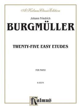 25 Easy Etudes, Opus 100 (AL-00-K03274)