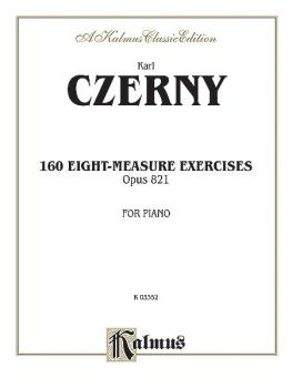 160 8-measure Exercises, Op. 821 (AL-00-K03352)